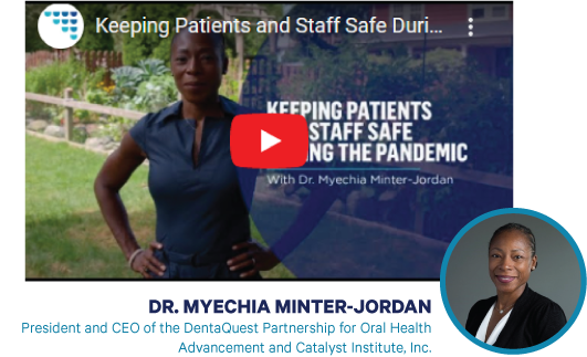 click to play keeping patients and staff safe during the pandemic video