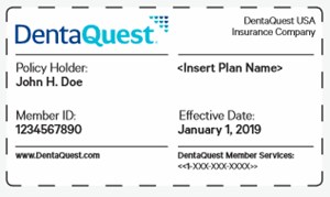 DentaQuest ID Card